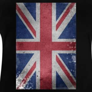 gb-flag Britain engelsk Union Jack ødelagt UK - Baby T-shirt