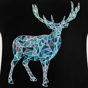 Blue deer - Baby T-Shirt