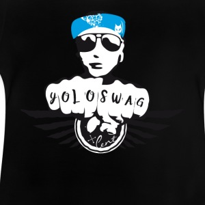 SWAG gangster rue Tatoo motard musique cool fun bl - T-shirt Bébé