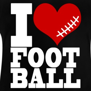 I LOVE FOOTBALL - Baby T-Shirt