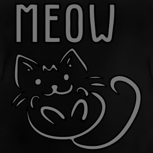 MEOW - Baby-T-shirt