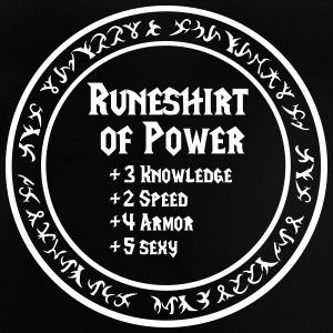 Runeshirt of Power - Baby T-Shirt
