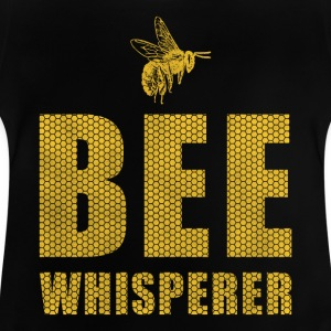 Bee whisperer gave / design - Baby-T-skjorte