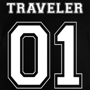 TRAVELLER 01 - White Edition - Baby-T-shirt