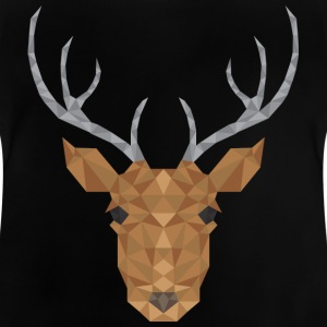deer head - Baby T-Shirt