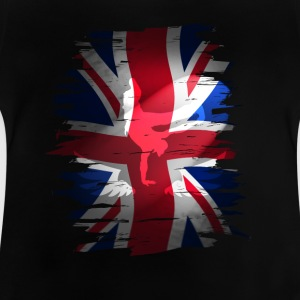 Union Jack flagget skater Uk England London lol COO - Baby-T-skjorte