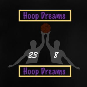 Basketball Shirt Hoop Dreams, Ball is Life SMK - Baby T-Shirt