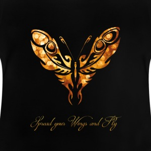 Butterfly leven romantische fly spell Girl - Baby T-shirt