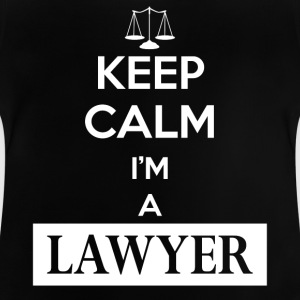 Keep calm I am a lawyer - Baby T-Shirt