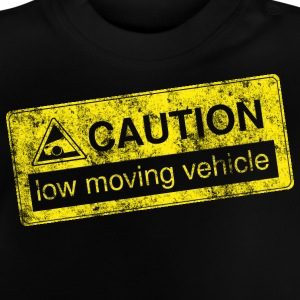 caution lowmovingvehicle by GusiStyle - Baby T-Shirt