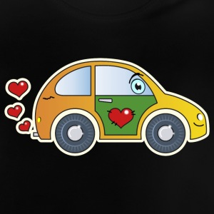 Kids Car Toy Car heart colorful merry children - Baby T-Shirt