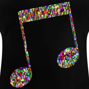 Musical note - Mosaic - T-shirt Bébé