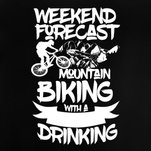 Mountainbike and Drinks - Weekend Forecasts - Baby T-Shirt