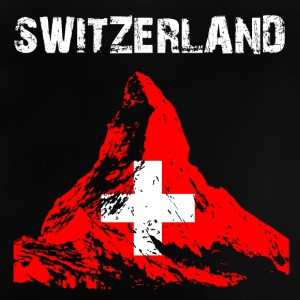Nation-Design Schweiz Matterhorn - Baby-T-shirt
