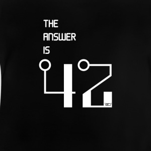 The Answer is 42 - Baby T-Shirt
