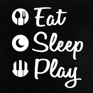 Eat Sleep Piano - Baby T-Shirt