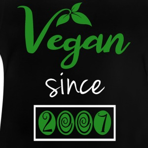 Vegan sedan 2007 - Baby-T-shirt