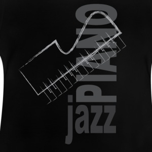 Jazz Piano - Baby T-shirt