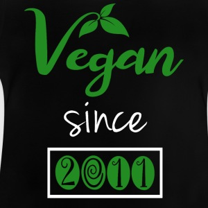 Vegan sedan 2011 - Baby-T-shirt