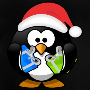 Father Christmas Penguin - Baby-T-skjorte