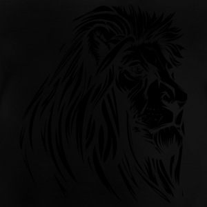 old wise lion black - Baby T-Shirt