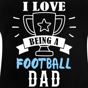 voetbal vader - Baby T-shirt