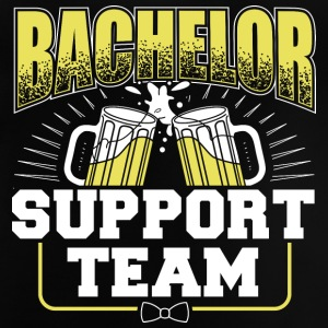 BACHELOR SUPPORT TEAM - Baby-T-skjorte