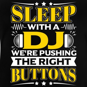 SLEEP WITH A DJ - PUSHING THE RIGHT BUTTONS - Baby T-Shirt