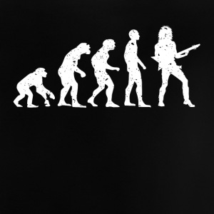 EVOLUTION GUITARISTE! - T-shirt Bébé