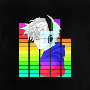 Electronic Music - Anime Guy - Baby-T-shirt