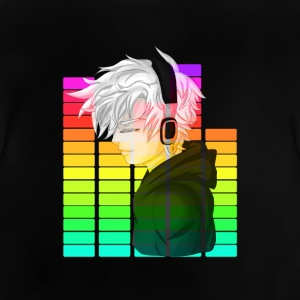 Electronic Music - Anime - Baby-T-shirt