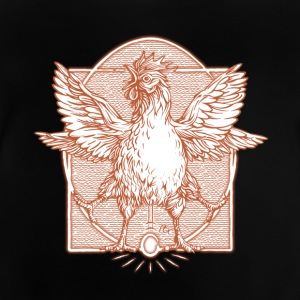 The rooster Vitruve3 - Baby T-Shirt