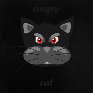 Mad cat - Baby T-shirt