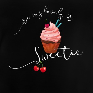 sweetie sweet cupcake muffin love cherry pink LOL - Baby T-Shirt