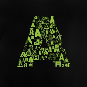 Font Fashion A - Baby T-Shirt