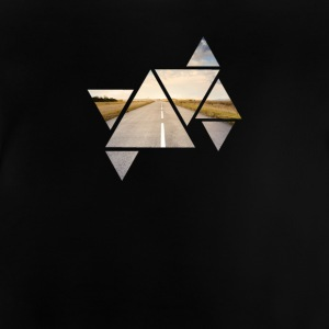 Triangle Road - Baby T-Shirt