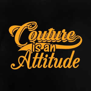Couture is an Attitude - Gold - Baby T-Shirt