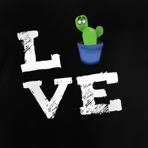 Love cactus beard spine comic humor fun big lol - Baby T-Shirt