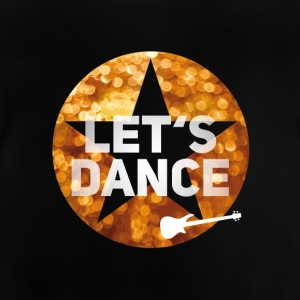 Disco dancing glamor swag 80s guitar gold star - Baby T-Shirt