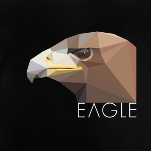 Eagle head proud Waffentier fly bird big eag - Baby T-Shirt