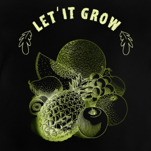 Plant growing gardener food food nature eco vega - Baby T-Shirt