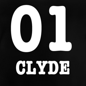 Clyde hvid - Baby T-shirt
