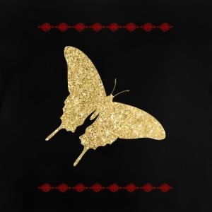 Golden Butterfly - Baby T-Shirt