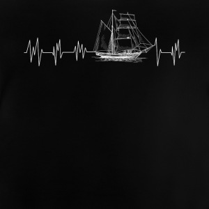 Heartbeat sailor - Baby T-Shirt