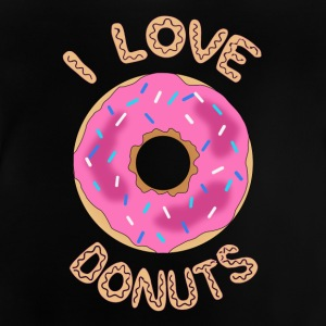 donut roze - Baby T-shirt