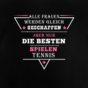 Triangle Design Frauen Tennis - Baby T-Shirt