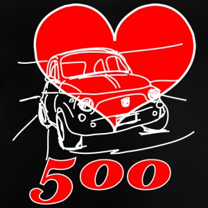 Mitica 500 Heart - I love the myth 500 - Baby T-Shirt