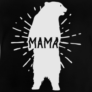 Mama Bear Mothers Day - mødre - Baby-T-skjorte