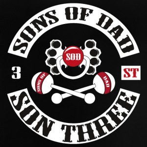 SONS OF DAD - SON THREE - Baby T-Shirt