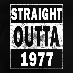 1977 - Straight outta - Baby T-shirt